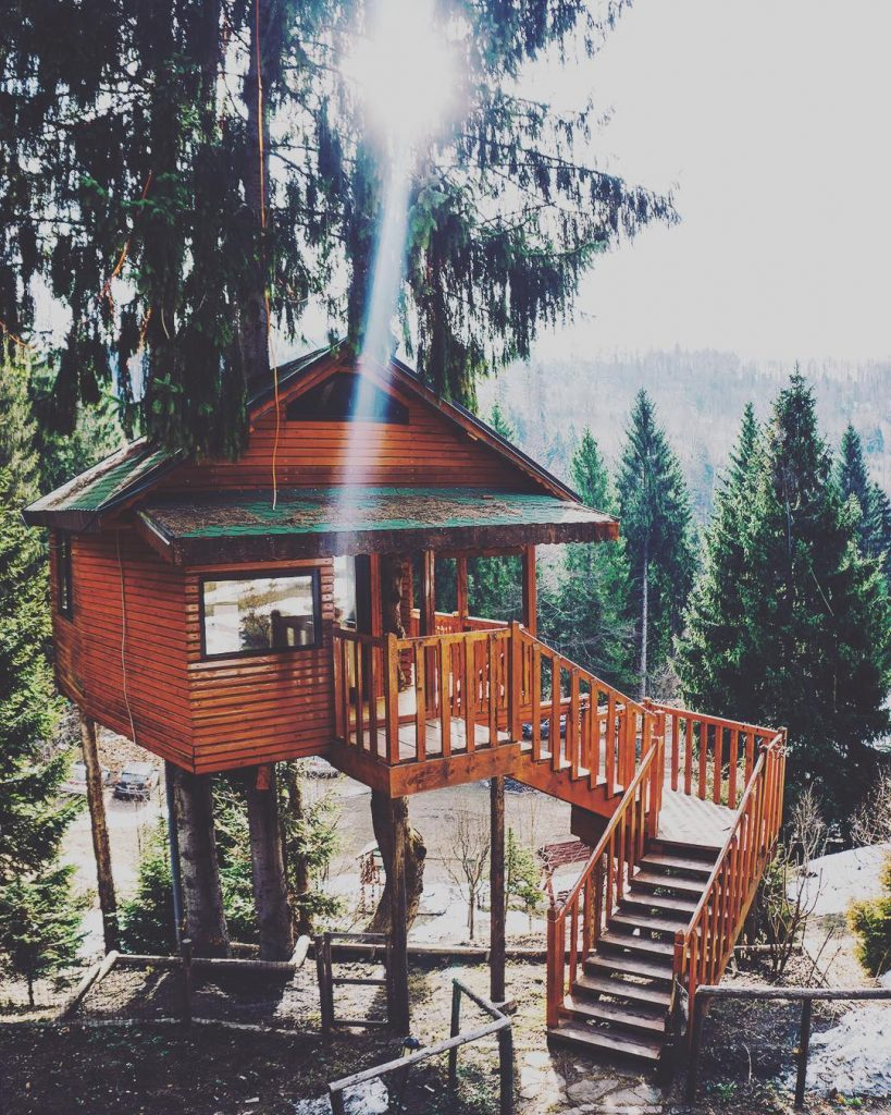 Vacante de vis in Romania - Hadar Chalet