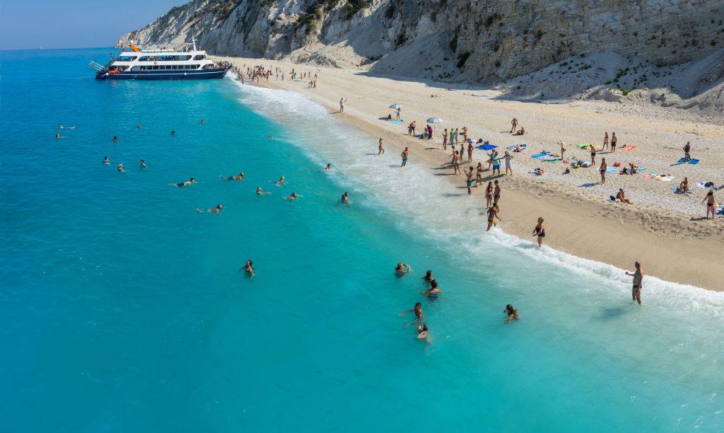 Plaja Egremni - insula Lefkada