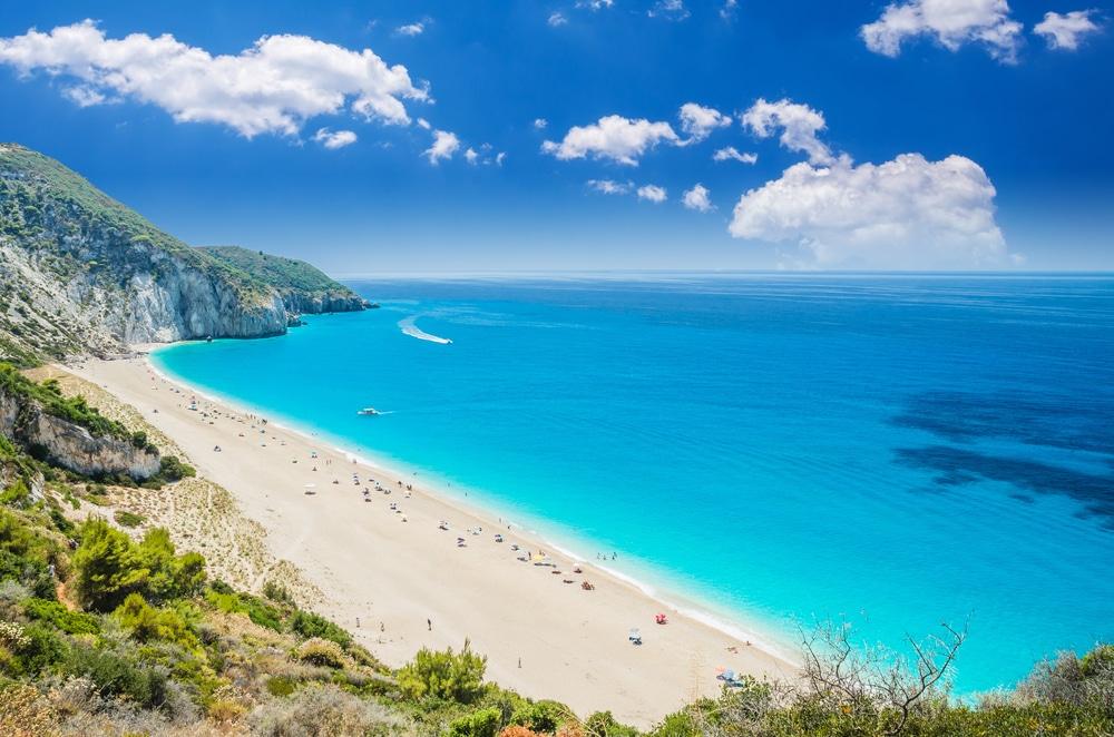 Plaja Milos - insula Lefkada