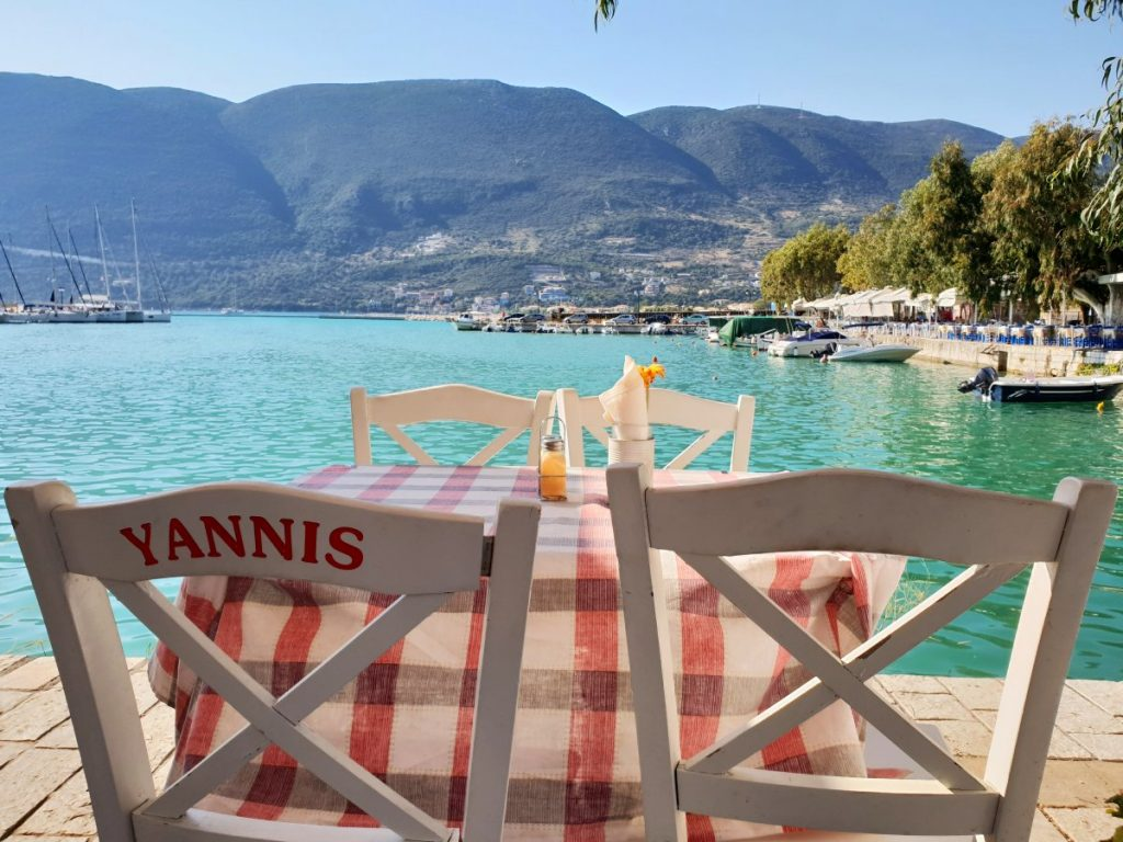Statiunea Vasiliki - insula Lefkada