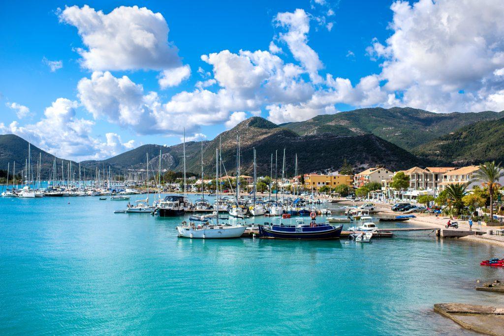 Statiunea Nidiri - insula Lefkada