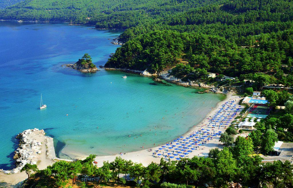 Top 10 atractii de vizitat in Thassos - Plaja Makariamos