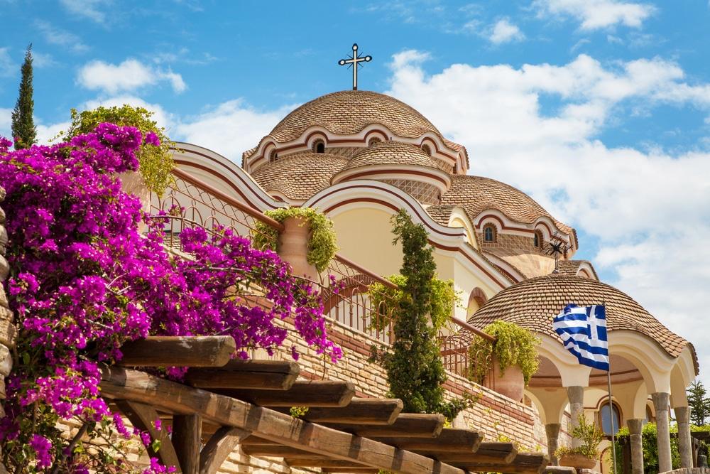 Top 10 atractii de vizitat in Thassos - Manstirea Arhangelului Mihail