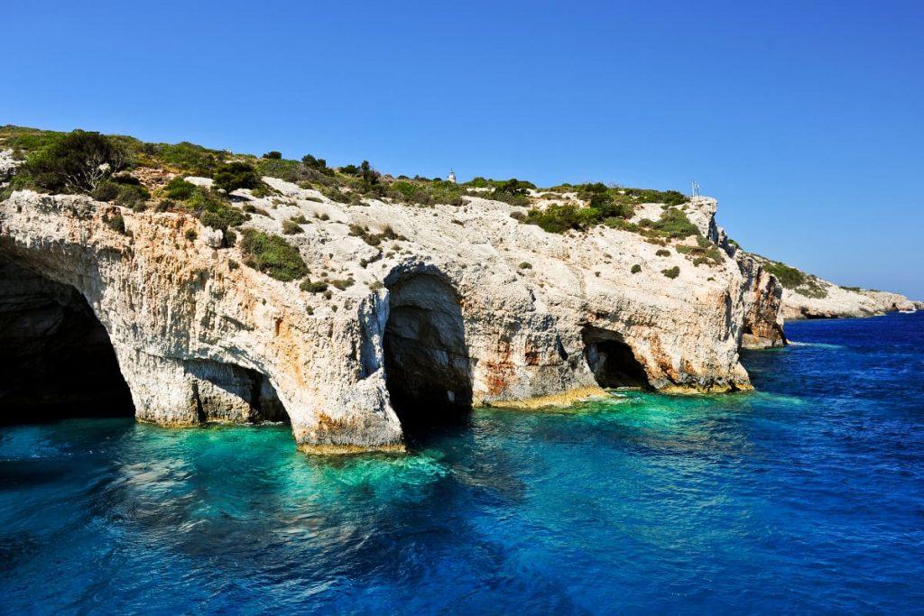 Blue Caves - insula Zakynthos