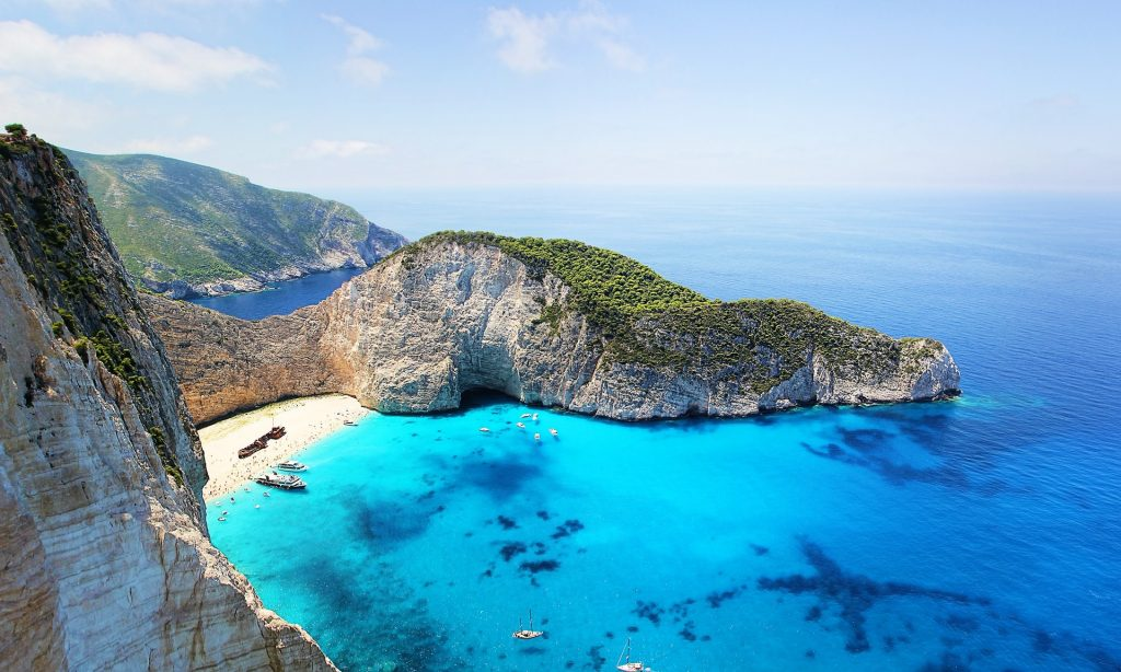 Plaja Navagio - insula Zakynthos